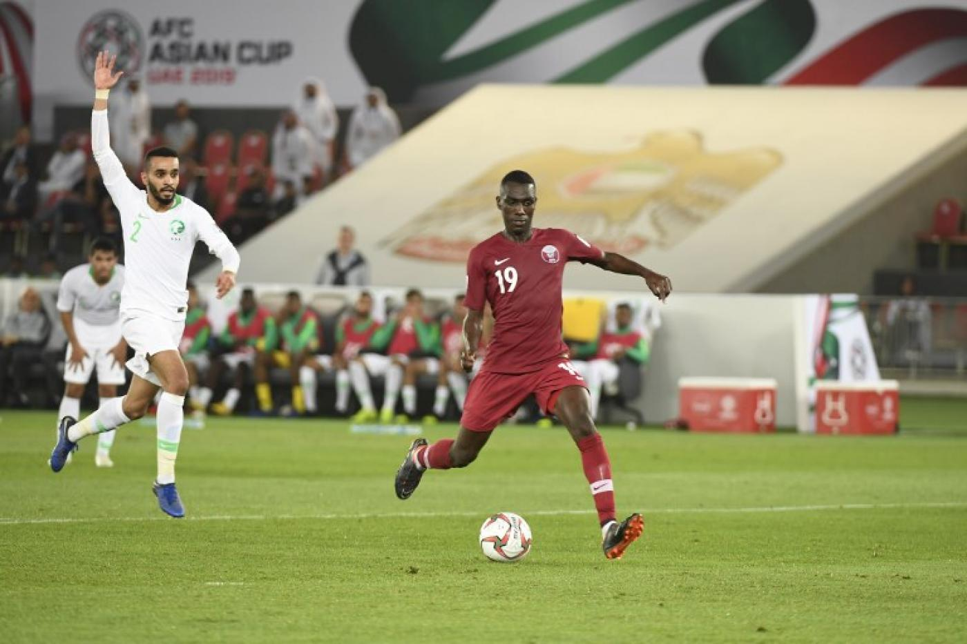 Asian Cup: Qatar beats Saudi Arabia in first meeting on pitch since