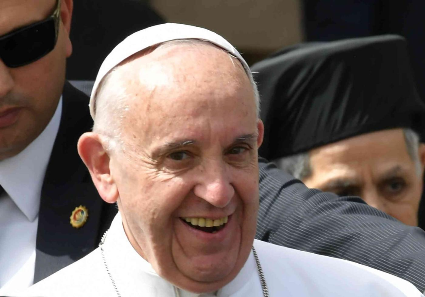 Pope Francis, in Egypt, urges 'unity and fraternity' after