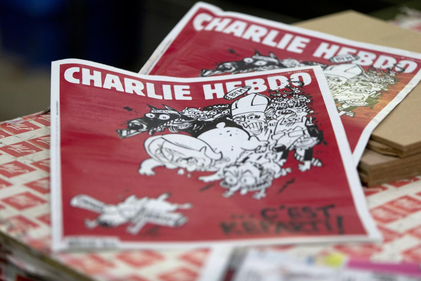 Controversy Surrounds Charlie Hebdo S Latest Cartoon Middle East Eye