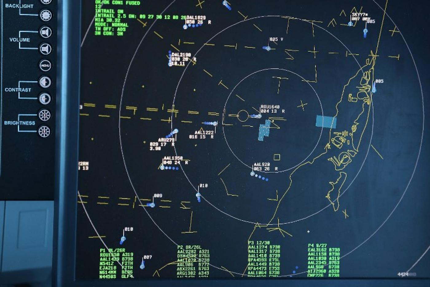 Eu Air Traffic Control Warns Airlines Of Possible Strikes Into Syria - Us-air-traffic-map