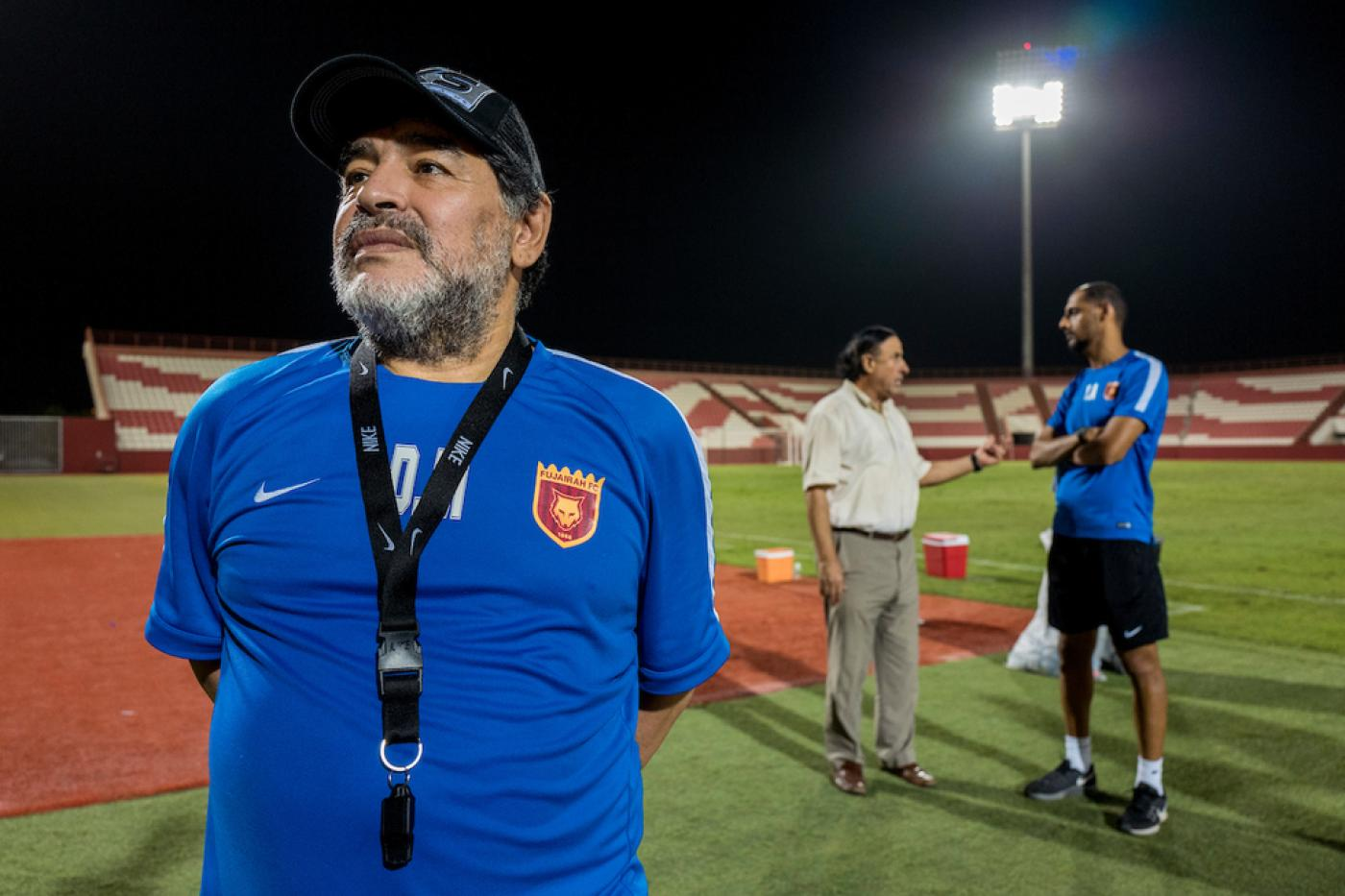 Diego Maradona In The Desert On The Trail Of Football S Lost Legend Middle East Eye