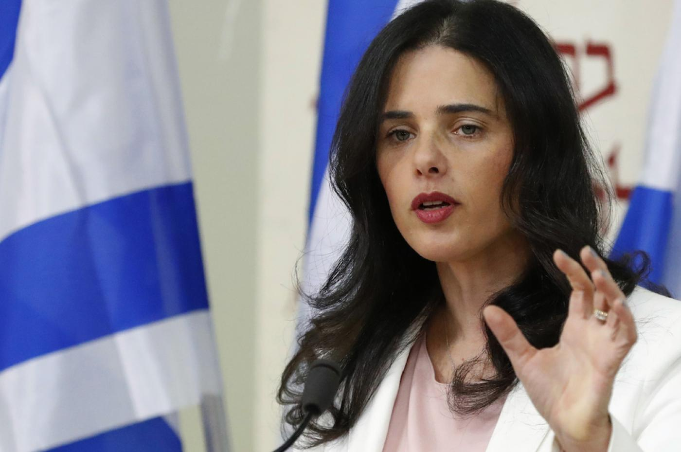 Israeli press review: Ayelet Shaked attempts to seize the far right |  Middle East Eye