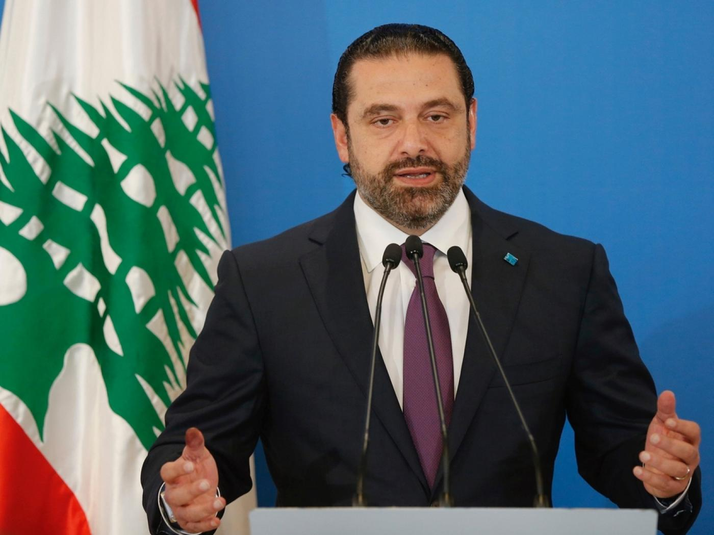 Hariri heads to Saudi for second time since suspect