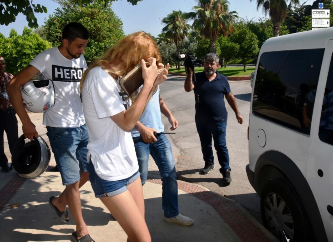 What not to wear: Turkish 'hero' T-shirts land dozens in