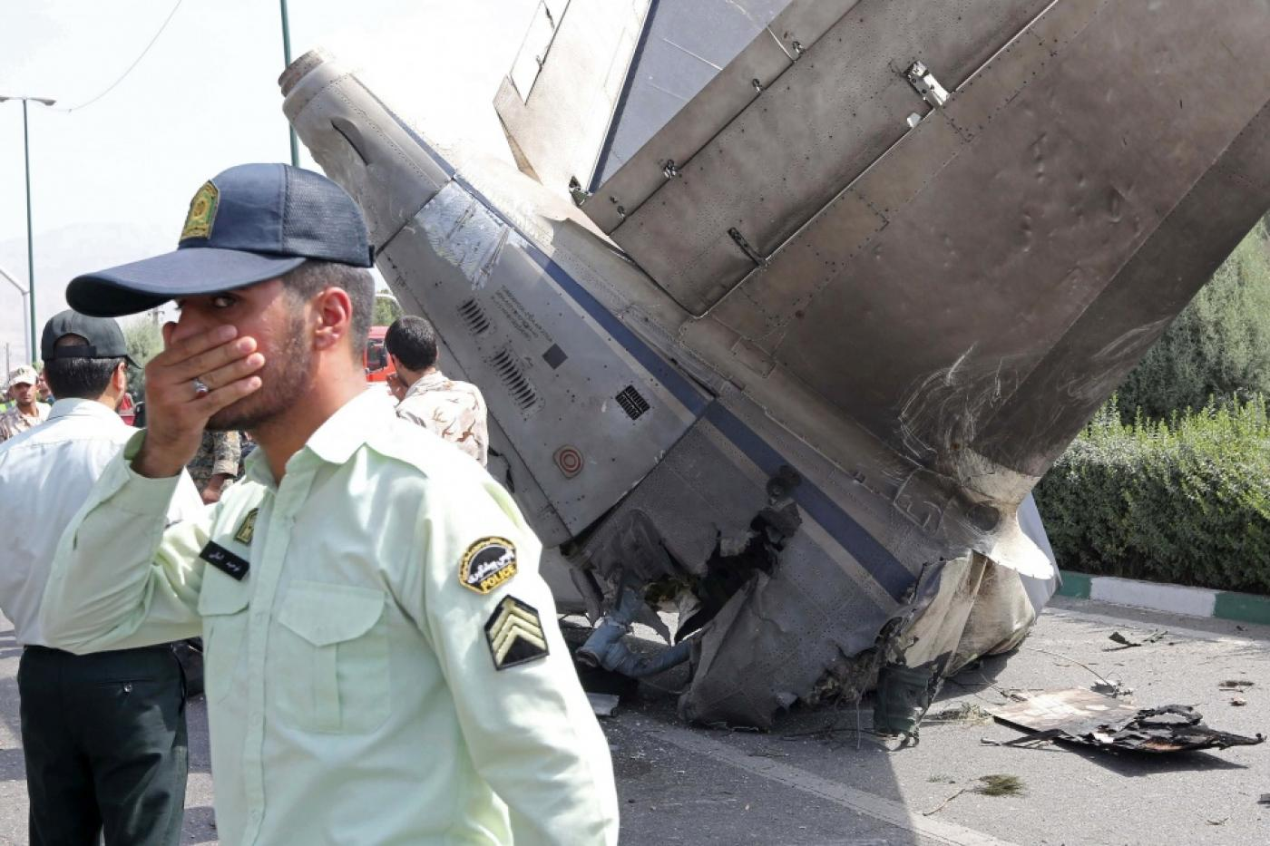Iran airliner crashes killing at least 38 | Middle East Eye