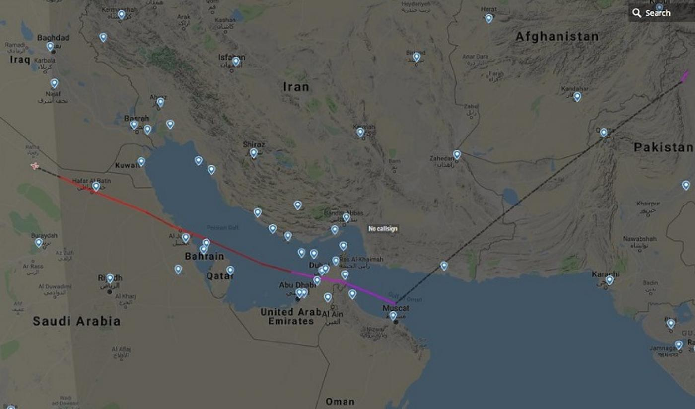 Tel Aviv Middle East Map.Exclusive Airport Staff Say Israeli Plane Landed In Pakistan
