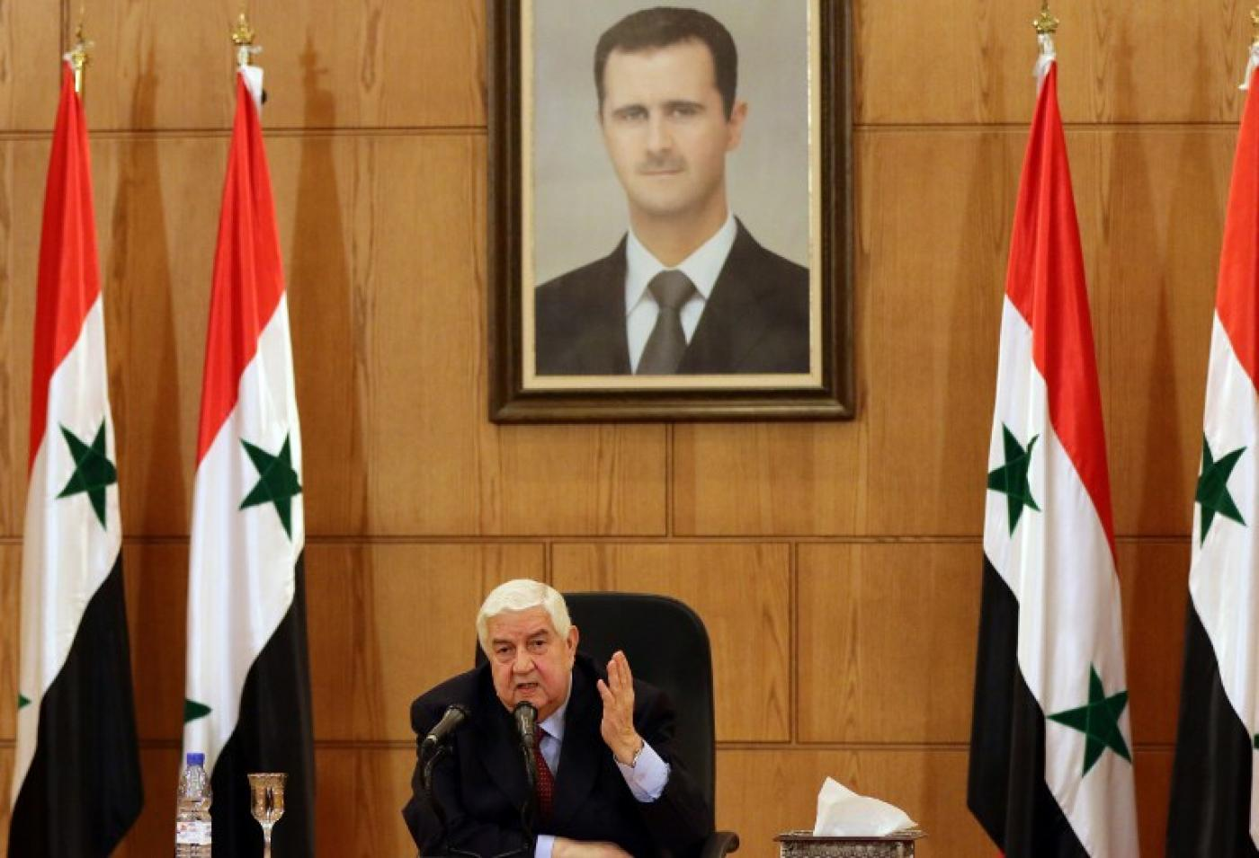 Syrian Foreign Minister Walid al-Moallem dies aged 79