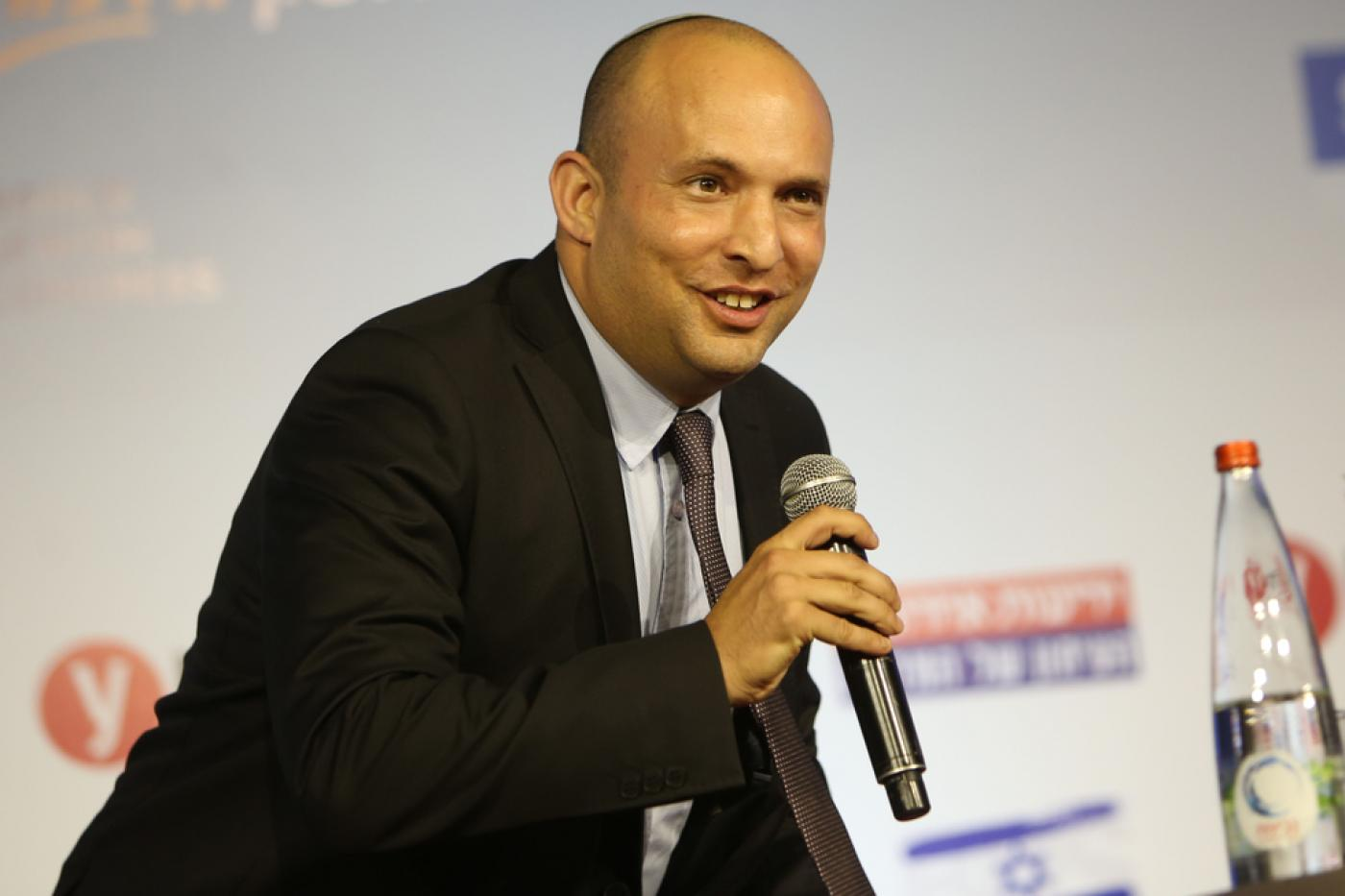 Naftali Bennett hopes HaYamin HaChadash will capture centre-right voters disillusioned with Likud (AFP)