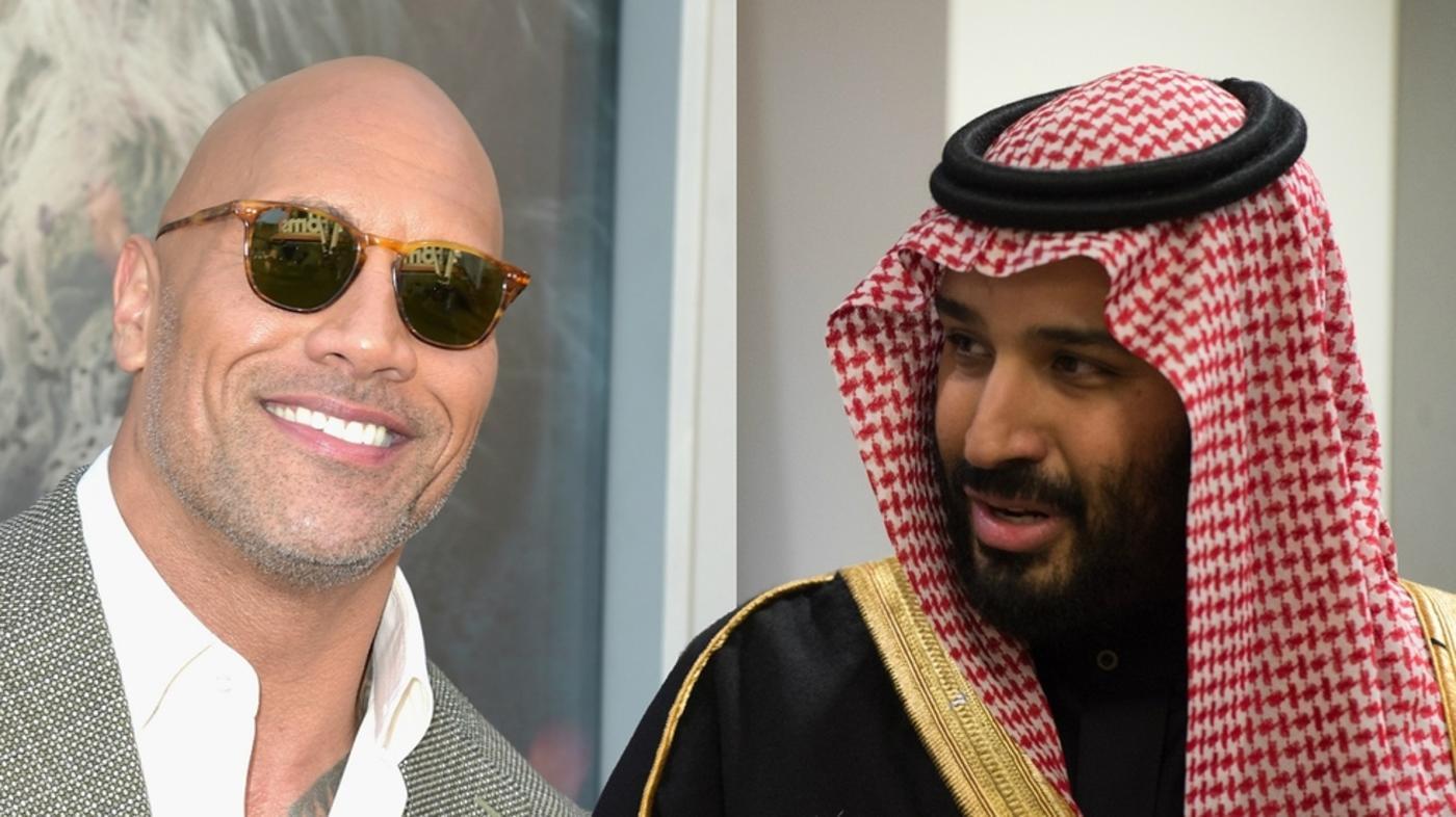 Tequila On The Rock As Mohammed Bin Salman Parties In
