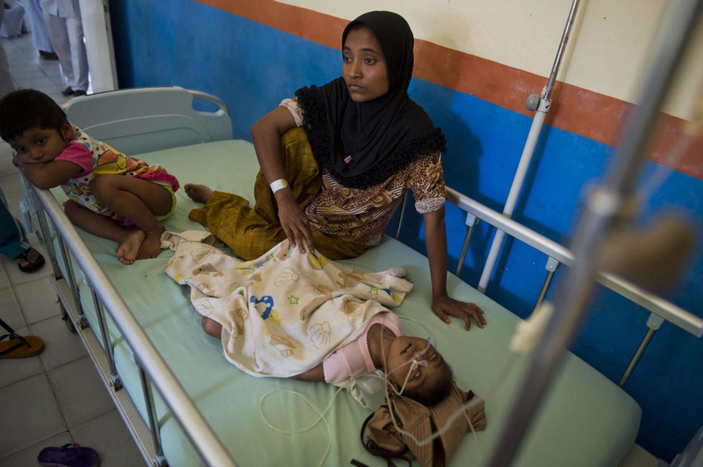 Qatar pledges $50 million to Indonesia for hosting Rohingya refugees