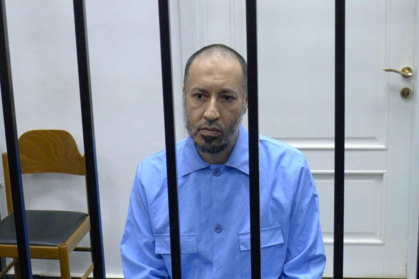 Saadi Gaddafi in court charged with murdering footballer | Middle East Eye
