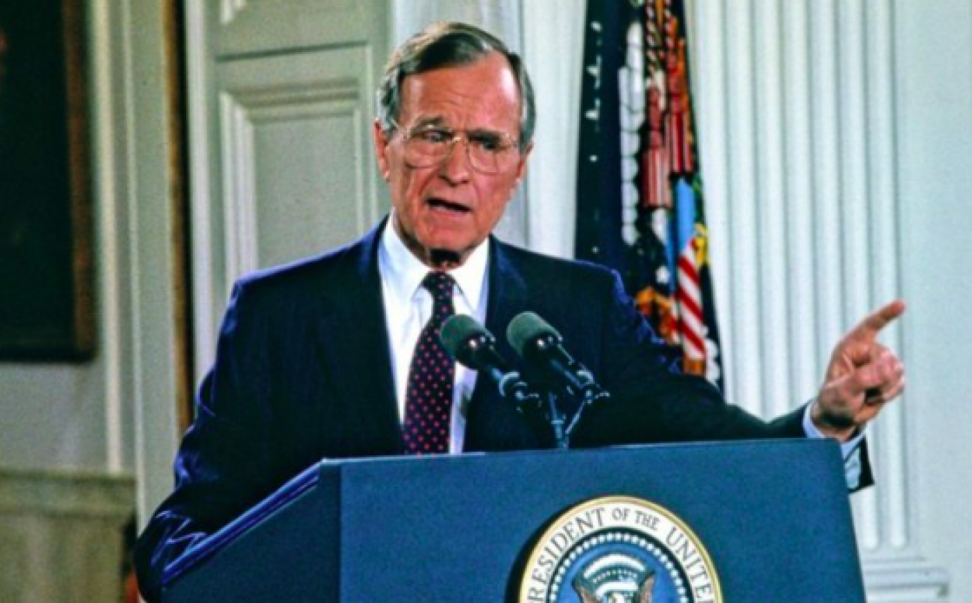 George Hw Bush And The Middle East How His Legacy Lives On Middle