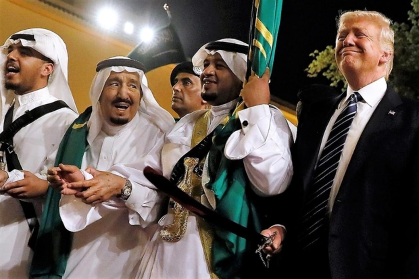 trump saudi arabia 2017