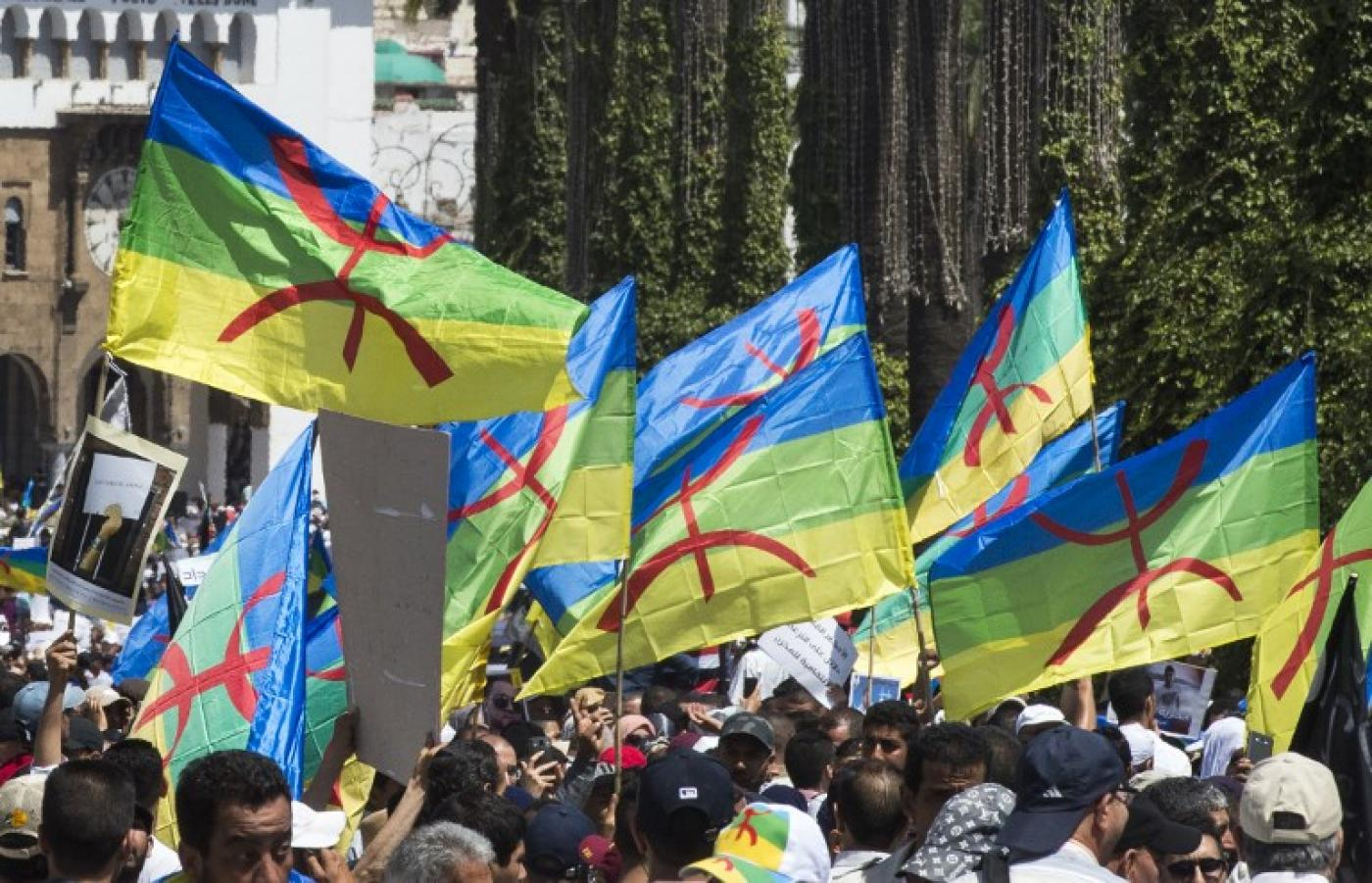 Tens of thousands protest in Morocco over jailed Rif