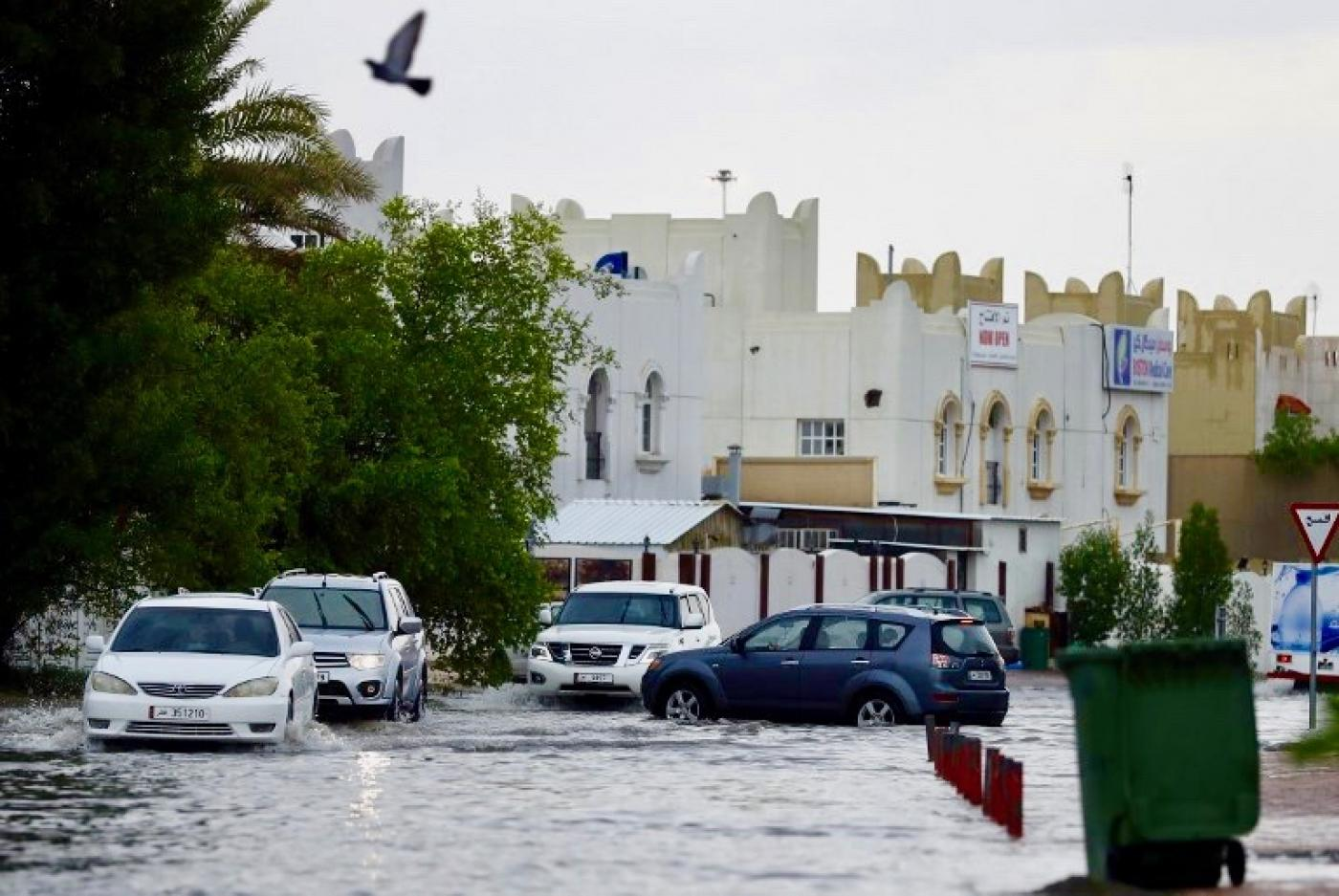 Qatar drenched by floods as almost a year's rain falls in