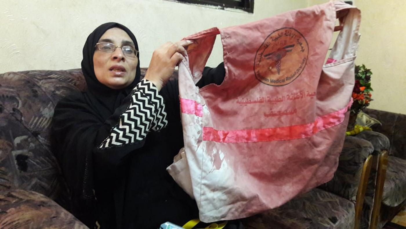 My daughter was a target\u0027 Gaza grieves for paramedic killed