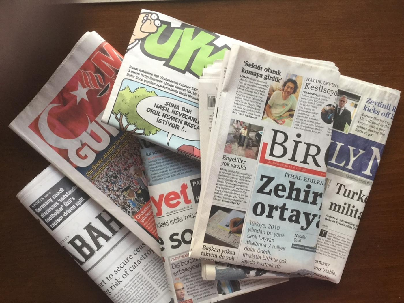 Turkey's press faces further hardship as lira crisis sees paper