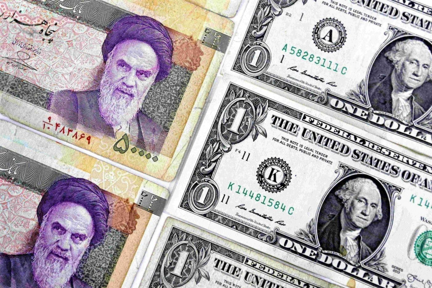 Iran Currency Extends Record Decline As