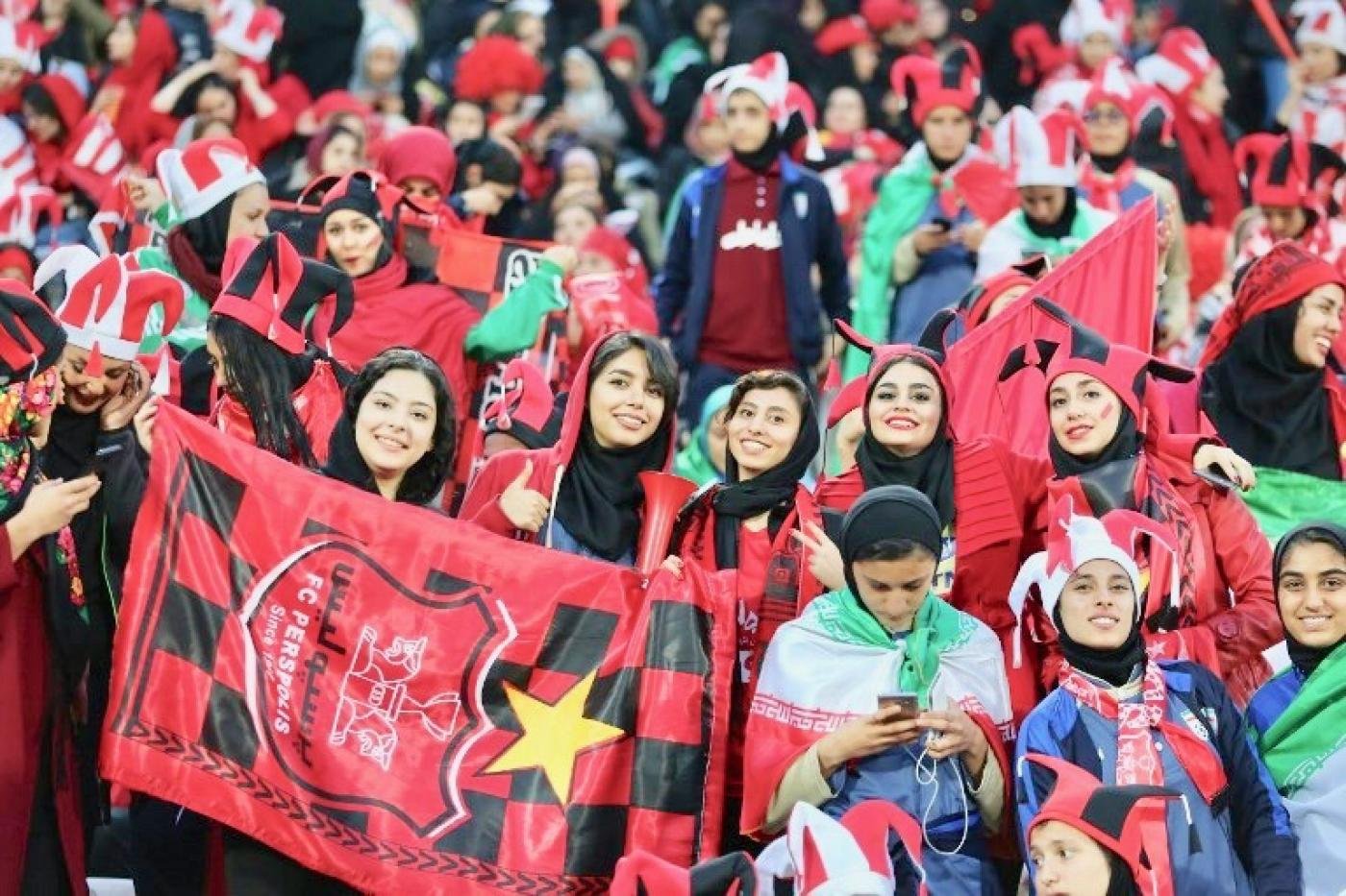 Iran Lets Hundreds Of Women Attend Asian Champions League Final Middle East Eye