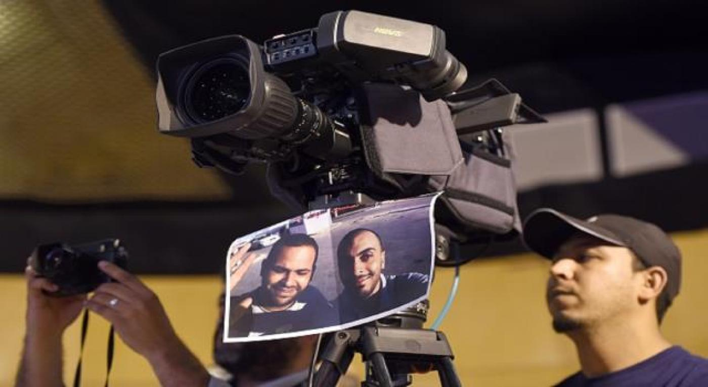 Tunisian government 'giving up' on journalists missing in Libya