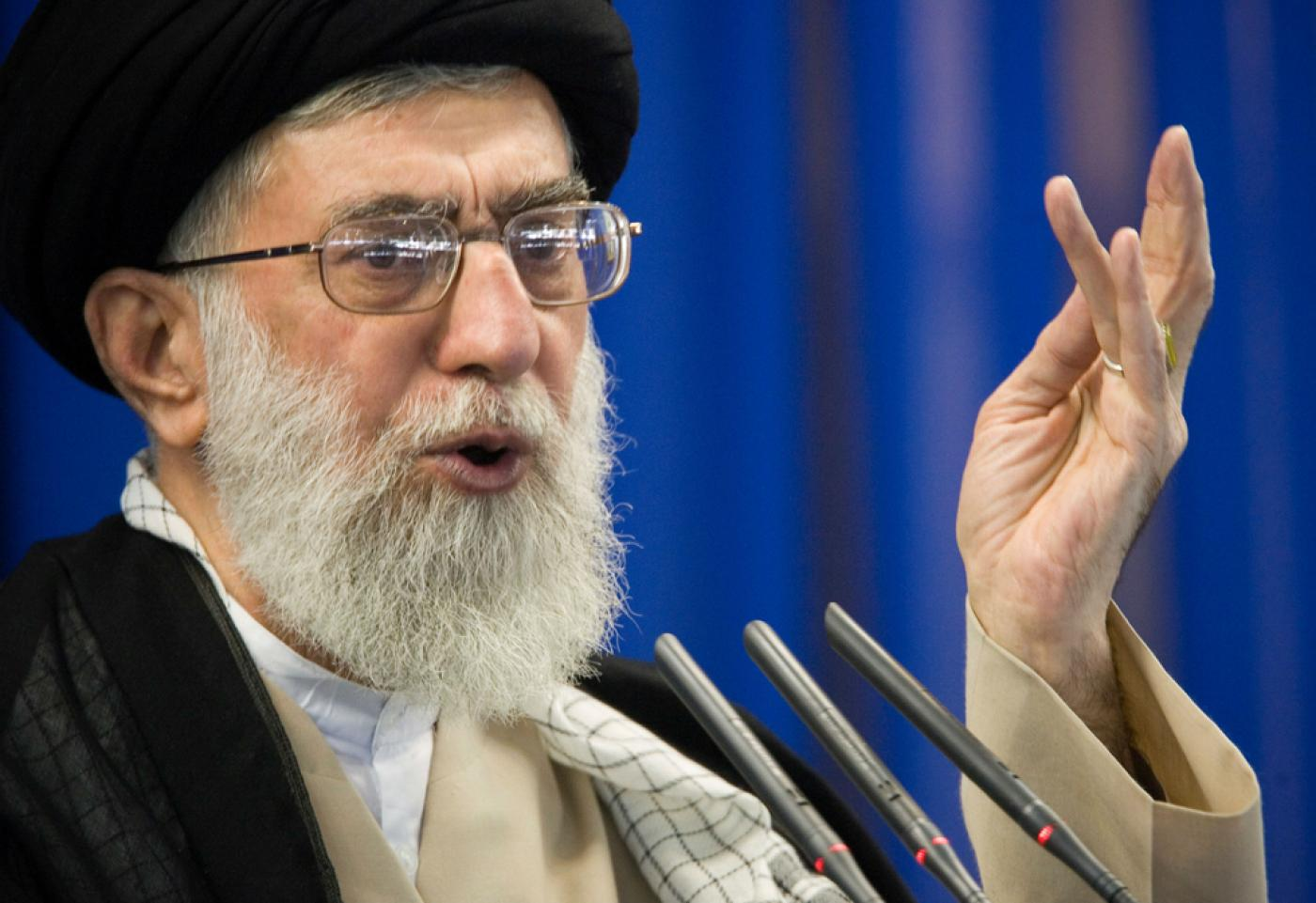 Iran's Khamenei backs call to block Gulf oil exports if own