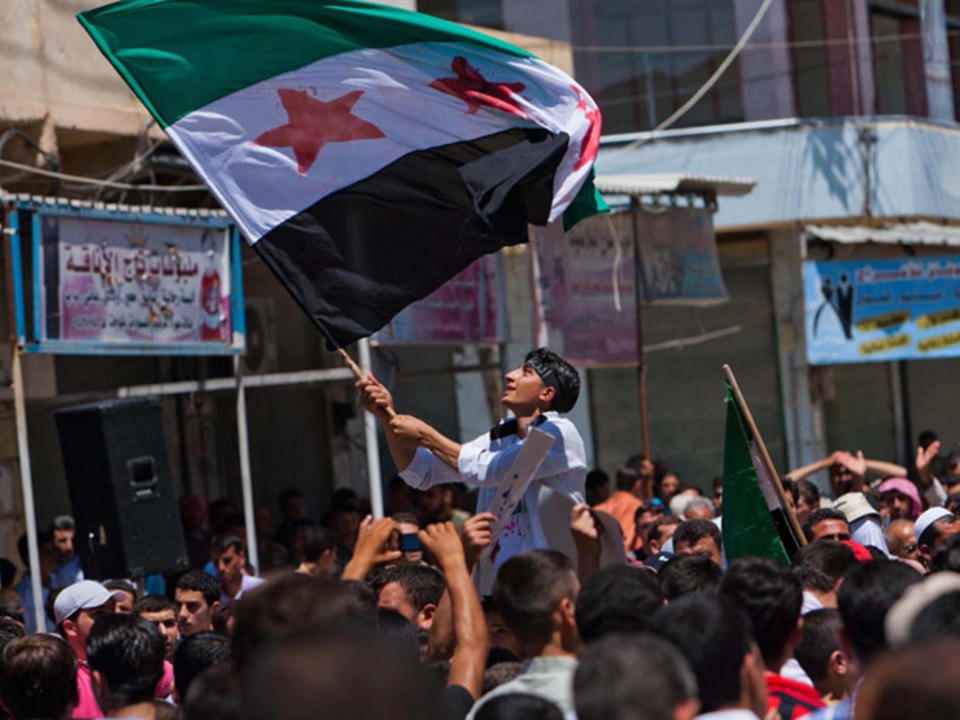 Syrian Revolutionary Flag Afp