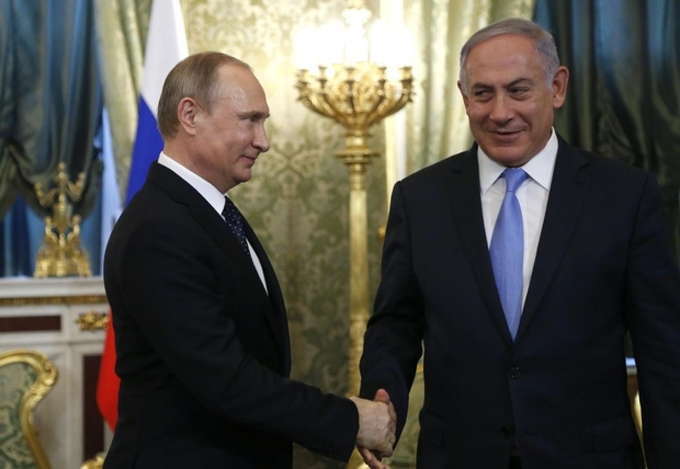 Rencontre Poutine-Netanyahu, jeudi à Sotchi