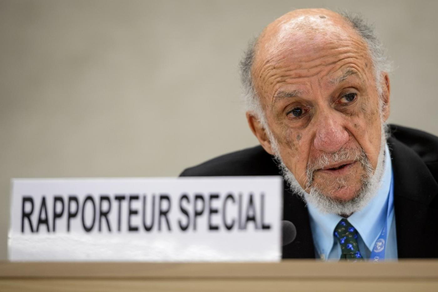 Richard Falk: 'History is on the side of the Palestinians