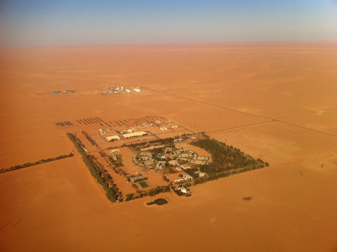 The Sharara oil field in southern Libya