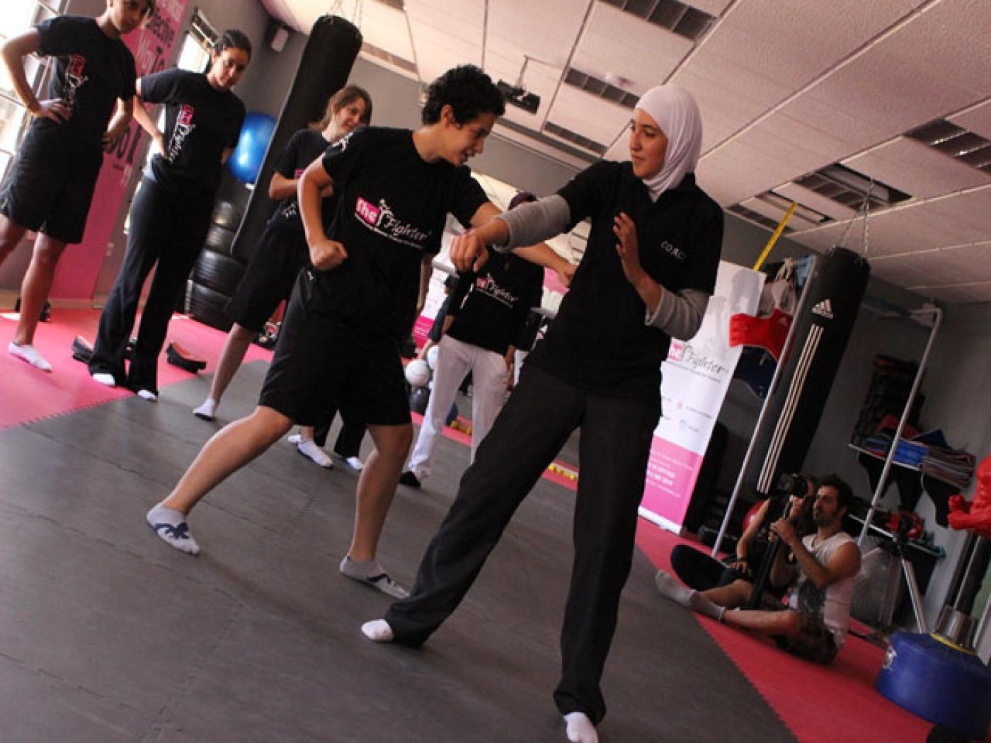 SheFighter: Jordan's first self-defence academy for women