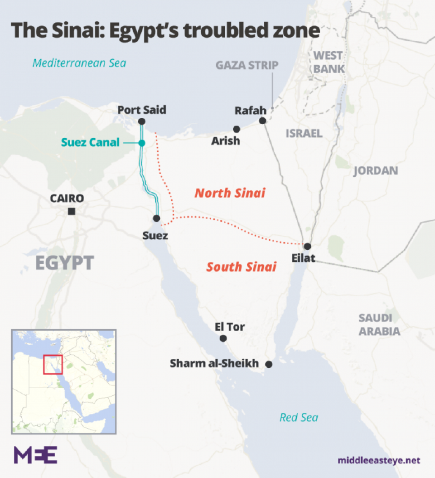 Eid turned into a funeral': Sinai attack leaves Egyptian