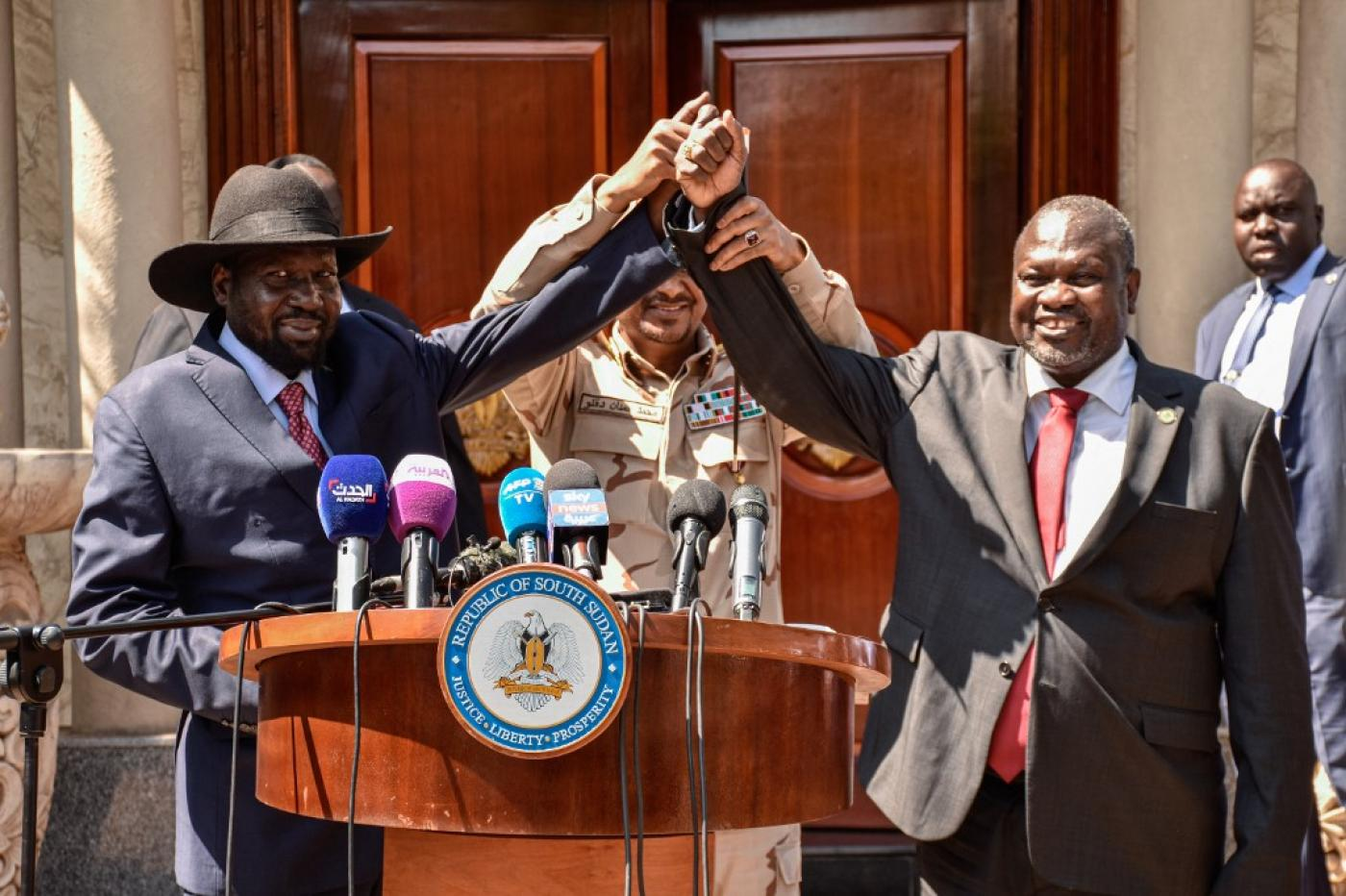 Salva Kiir appoints Machar as First Vice President