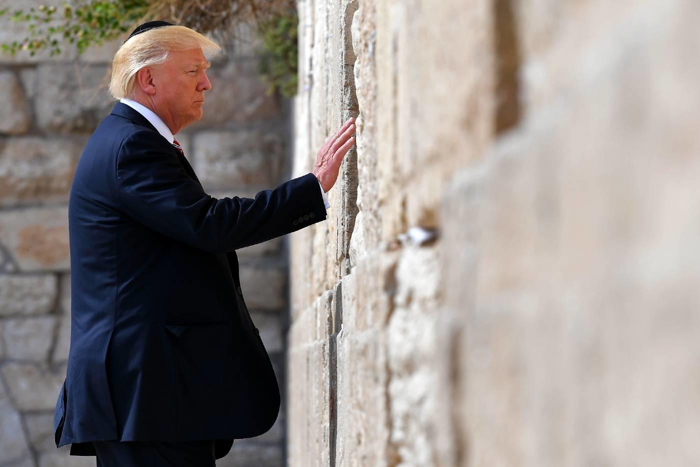 trump western wall jerusalem may 2017