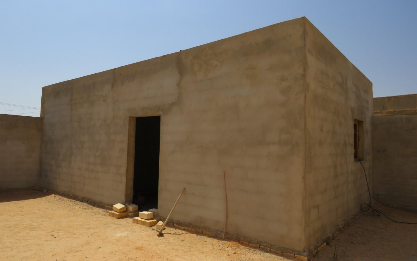 La dépendance où la famille de Mohammed Abu Ajila Enbis a été abattue par des mercenaires étrangers (MEE/Daniel Hilton)