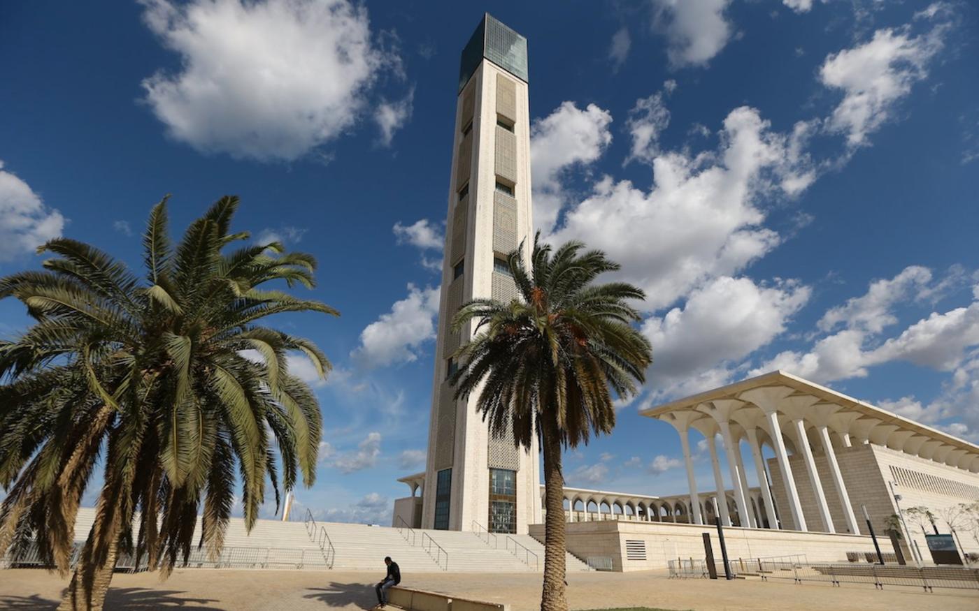 La Grande mosquée d'Alger, un chantier remporté par les Chinois (MEE/Farouk Batiche)