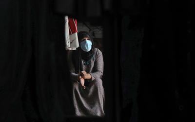 Coronavirus: Göçmen işçiler, herhangi bir ücret veya eve gitmeden pandemi isabetli Irak'a sıkıştı 2