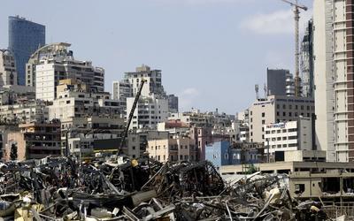 'Bozulmamış pencere kalmadı': Beyrut'un mirasını enkazdan kurtarmak 3