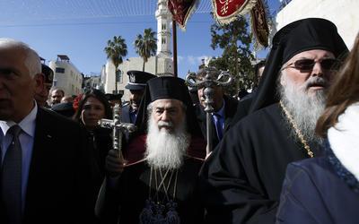 Filistinliler İsrail'i Beytüllahim'den 1.500 yaşındaki Hıristiyan kalıntısını çalmakla suçladı 2