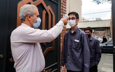 Sağlık bakanlığı, İran'ın koronavirüs ölümlerinin 24.000'i aştığını söyledi 2
