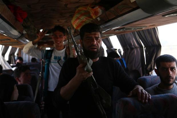 Fresh air raids hit Douma in eastern Ghouta as Syria talks collapse