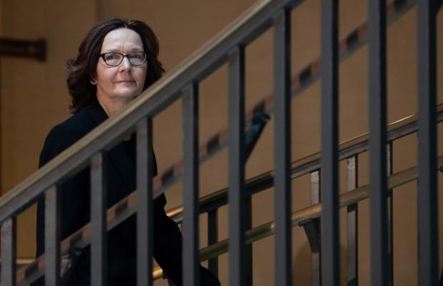 CIA Director Gina Haspel leaves a briefing with US House leaders about the death of journalist Jamal Khashoggi on Capitol Hill in Washington, DC, 12 December 2018 (AFP)
