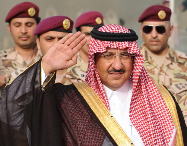 Saudi Crown Prince Mohammed bin Nayef