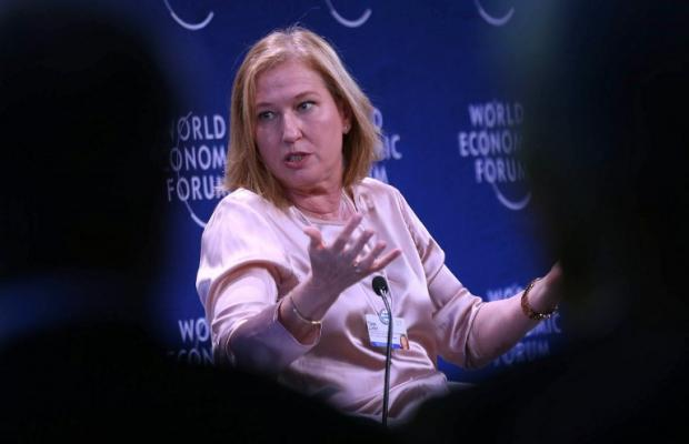 Former Israeli Foreign Minister Tzipi Livni attends the World Economic Forum in the Dead Sea resort of Shuneh, west of Amman, on 20 May 2017 (AFP)