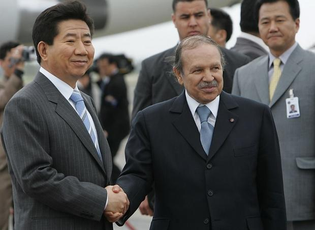 EXCLUSIVE: Algeria hosted North and South Korea delegates as relations improve