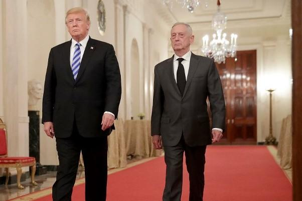 President Donald Trump announced that Defense Secretary Jim Mattis is retiring this coming February and he will announce his replacement soon, 20 December, 2018 (AFP)