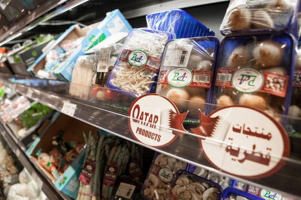 Made in Qatar': How the blockade has boosted Gulf state's food