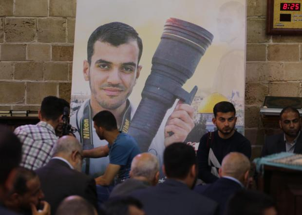 'We wont give up': Anger and grief over Israeli killing of Gazan video journalist