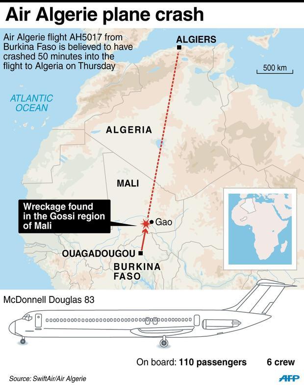 algeria airport map