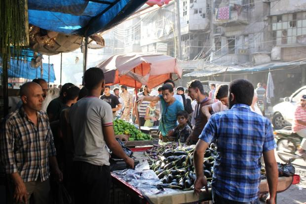 How food became a weapon in the siege of Aleppo | Middle