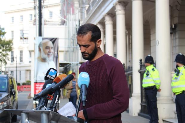 Bahraini hunger-striker ends London protest, vowing to continue fighting